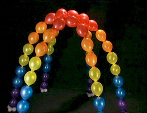 Linkoloon arch (per 16 balloons) $48