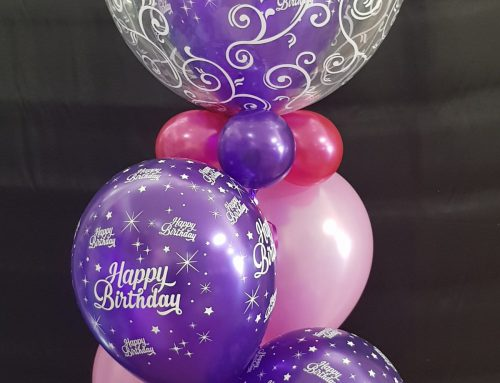 Inserted Bubble plus 4, confetti and base $54.95