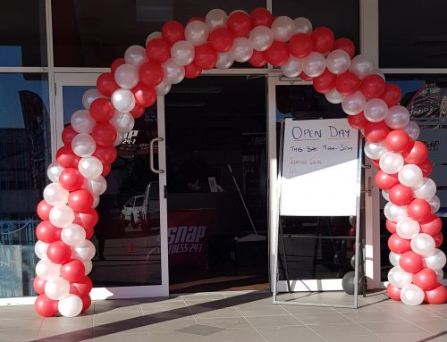 Double Door Balloon Arch $245 Delivered (cond apply)
