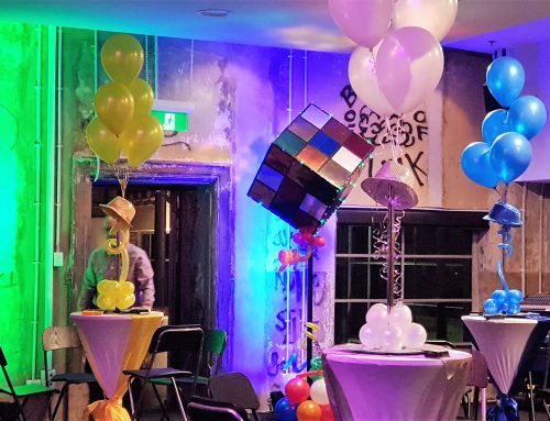 Event Design – Brisbane Powerhouse, Rubicks Cube