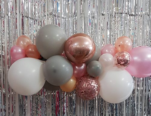 Organic Balloon Cloud Garland 1m $80