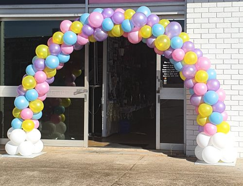 Balloon arch. Price varies by length.