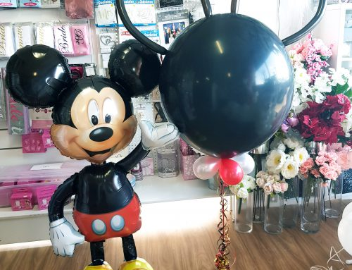 Special character balloons