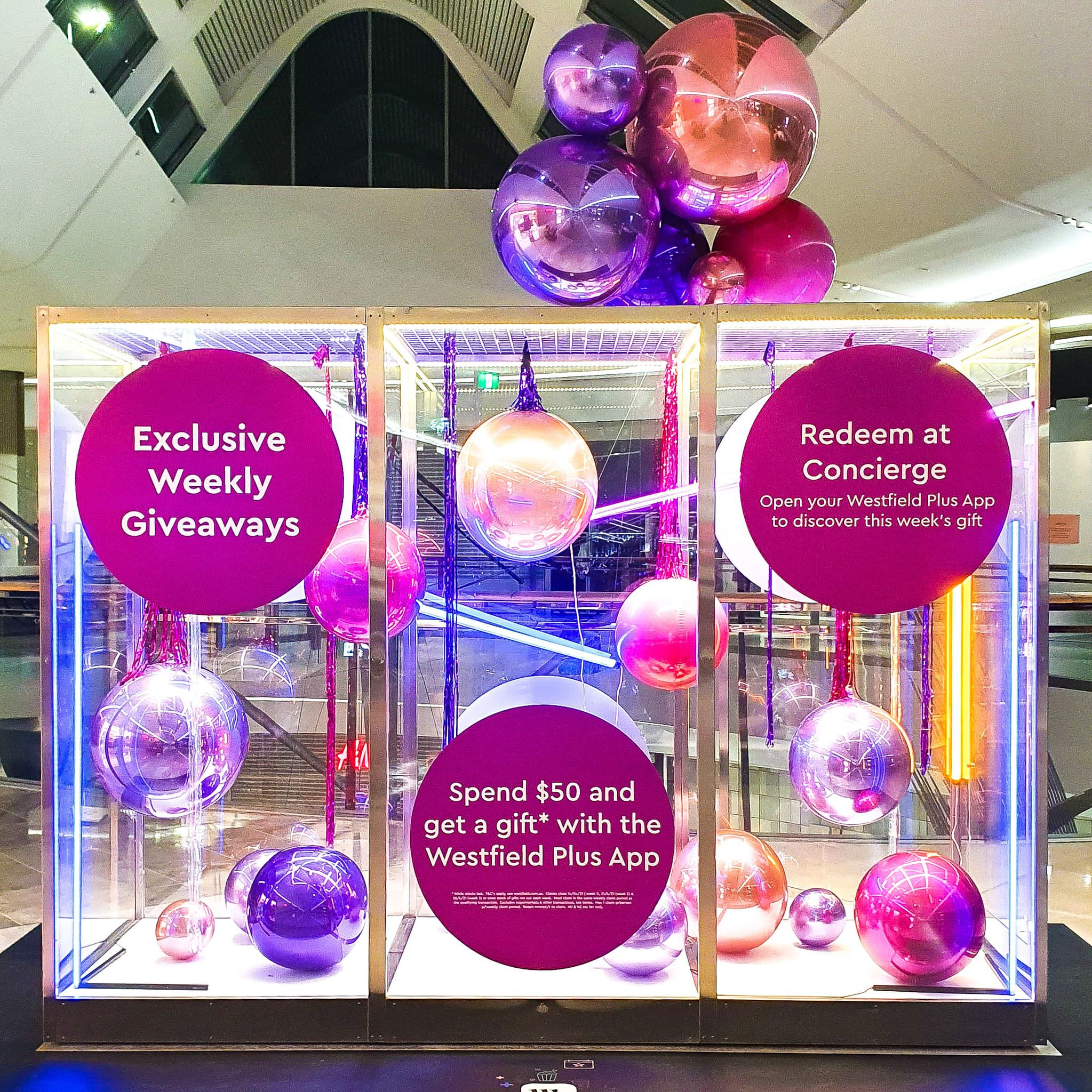 Promotional Balloon Display