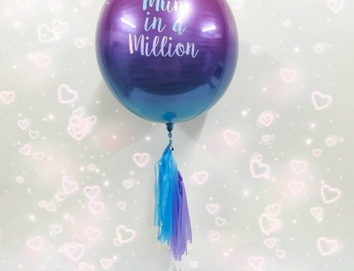 Mum In A Million Ombre Orb Balloon $39.95